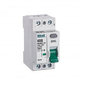 Выключатель диф.тока УЗО 03-2Р-040А-030 /14056DEK/
