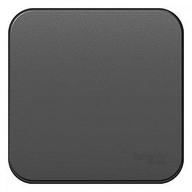 1-кл Выкл.о/у изол.пл. 10А антрацит /BLNVA101016/