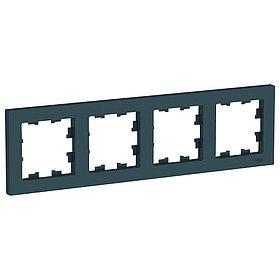 Рамка 4-п, универсальная, ИЗУМРУД /ATN000804/