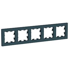 Рамка 5-п, универсальная, ИЗУМРУД /ATN000805/