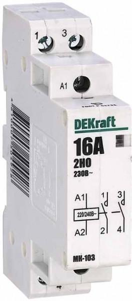 Модульный контактор MK103-016A-230B-20 /18050DEK/