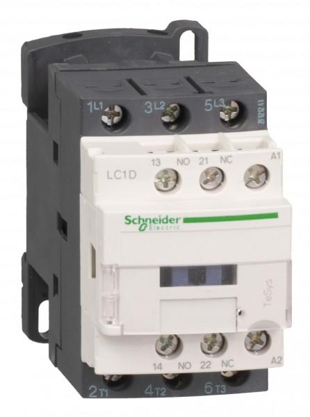 Контактор 3Р 18А НО+Н3 230V 50Гц /LC1D18P7/