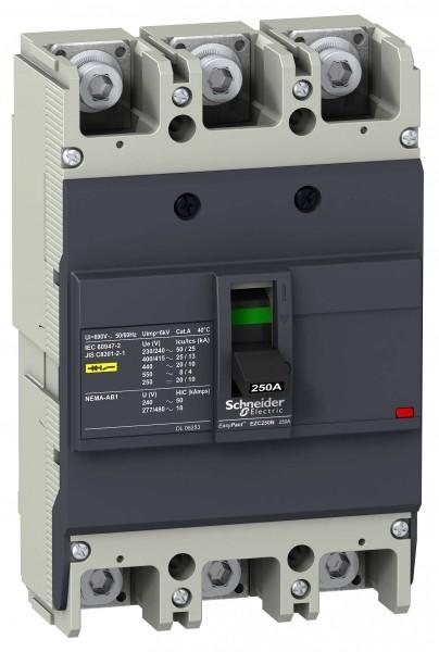 Авт.выкл-ль EZC250N 25kA/400V 3P 200A /EZC250N3200/