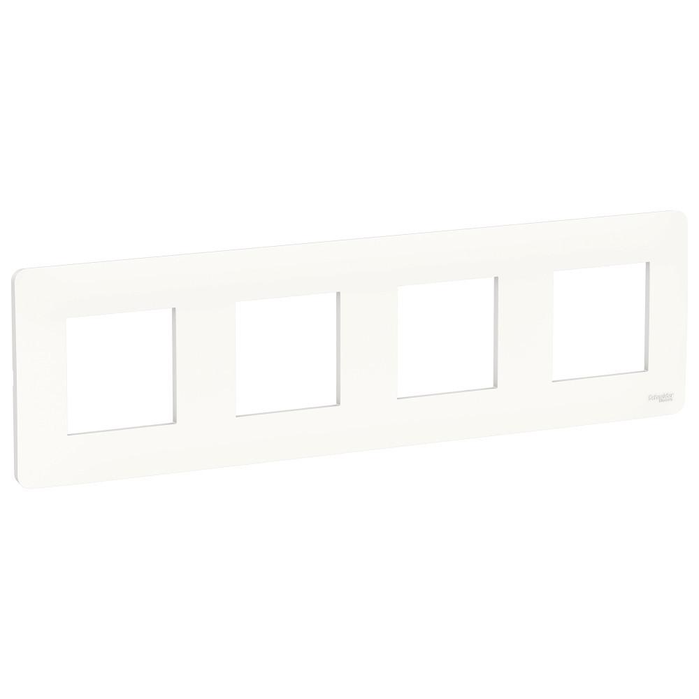 UNICA STUDIO рамка 4-постовая, белый /NU200818/