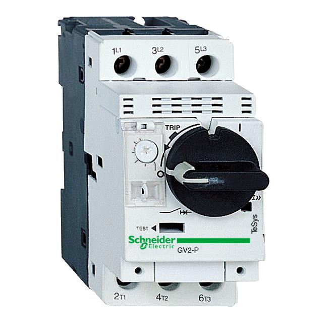 Авт.выкл.GV2P10 с комб.расцеп.4-6A