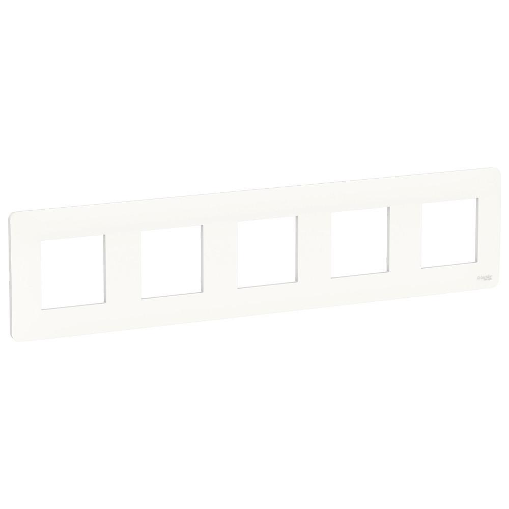 UNICA STUDIO рамка 5-постовая, белый /NU201018/