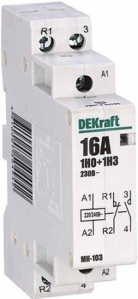 Модульный контактор MK103-025A-230B-11 /18065DEK/
