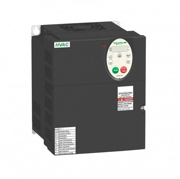 Частотный преобразователь ATV212 7,5квт 480В IP21 /ATV212HU75N4/