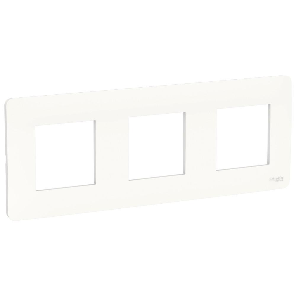 UNICA STUDIO рамка 3-постовая, белый /NU200618/