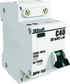 Автомат диф. ДИФ102-IN-020A-030-C /16004DEK/