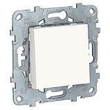 UN выключатель 1-клавишный, белый /NU520118/, фото 2