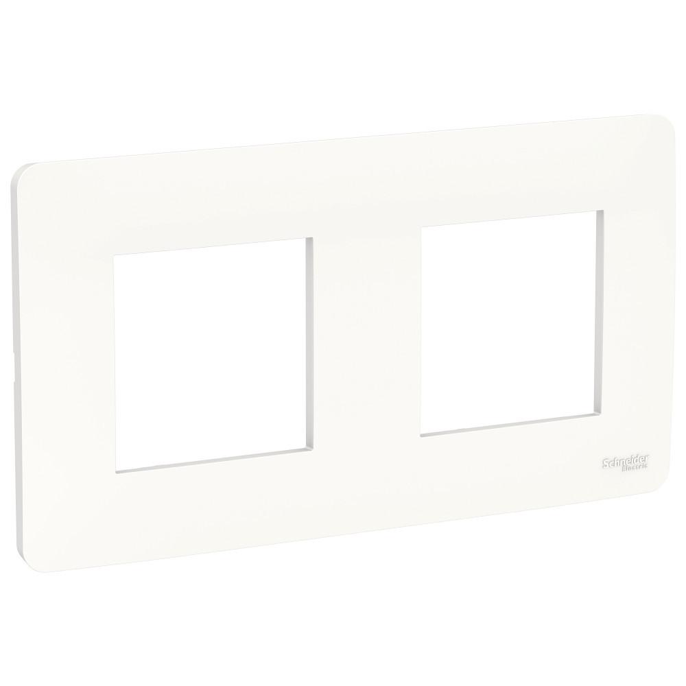 UNICA STUDIO рамка 2-постовая, белый /NU200418/