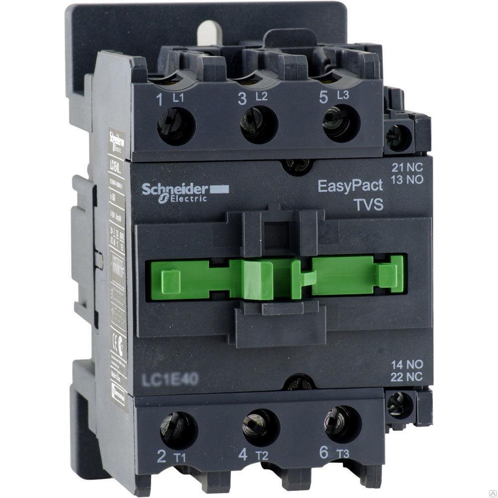 Контактор Е 95А 400В АС3 220В 50ГЦ / LC1E95M5/