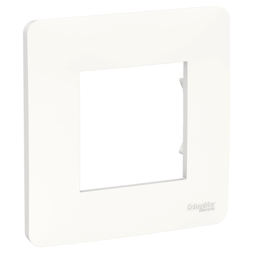 UNICA STUDIO рамка 1-постовая, белый /NU200218/