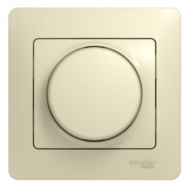 Светорегулятор повор, 300Вт, в сб, БЕЖ /GSL000234/