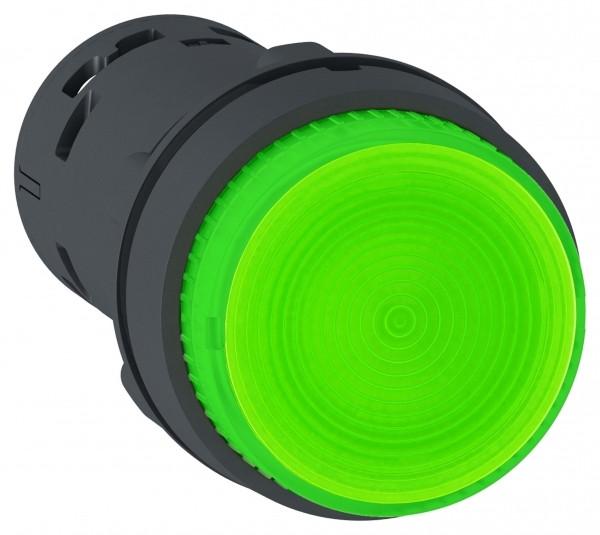 Кнопка 22мм 24В зеленая с подсв. /XB7NW33B1/