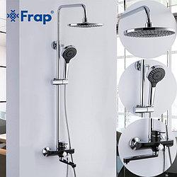 Душевая стойка с тропическим душем Frap