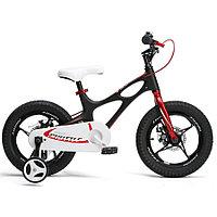 Детский двухколесный велосипед Royal Baby Space Shuttle Чёрный Black