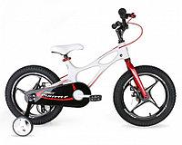 Детский двухколесный велосипед Royal Baby Space Shuttle Белый White