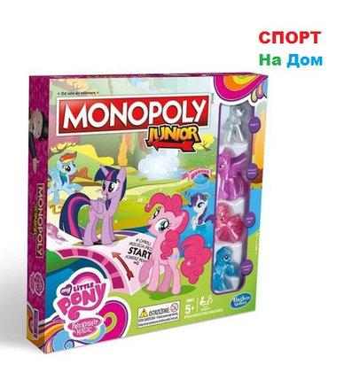 Монополия для девочек Junior My Little Pony 5+, фото 2