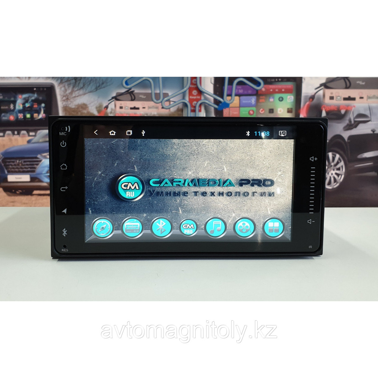 Магнитола CarMedia PRO Toyota HiAce