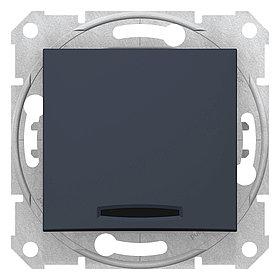 Переключатель 2 напр. с подсв., графит SDN0300321