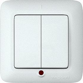 Выключатель С 56-039-би Wessen дв. вн. с инд.