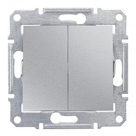 Переключатель 2кл, алюм SDN0600160