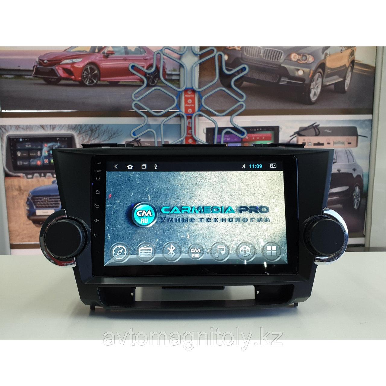 Магнитола CarMedia PRO Toyota Highlander 2008-2013