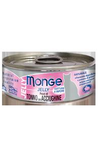 Консервы Monge Cat Jell для кошек (Желтоперый тунец с анчоусом в желе) - 80 г