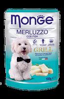 Корм Monge Dog Grill для собак (Треска) - 100 г