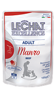 Корм Monge LeChat Excellence Adult для взрослых кошек (Говядина) - 100 г