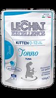 Корм Monge LeChat Excellence Kitten для котят (Тунец) - 100 г