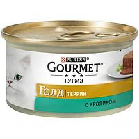 Консервы Purina Gourmet Gold Террин для кошек (Кролик по-французски) - 85 г