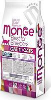 Корм Monge Sterilised для стерилизованных кошек - 10 кг