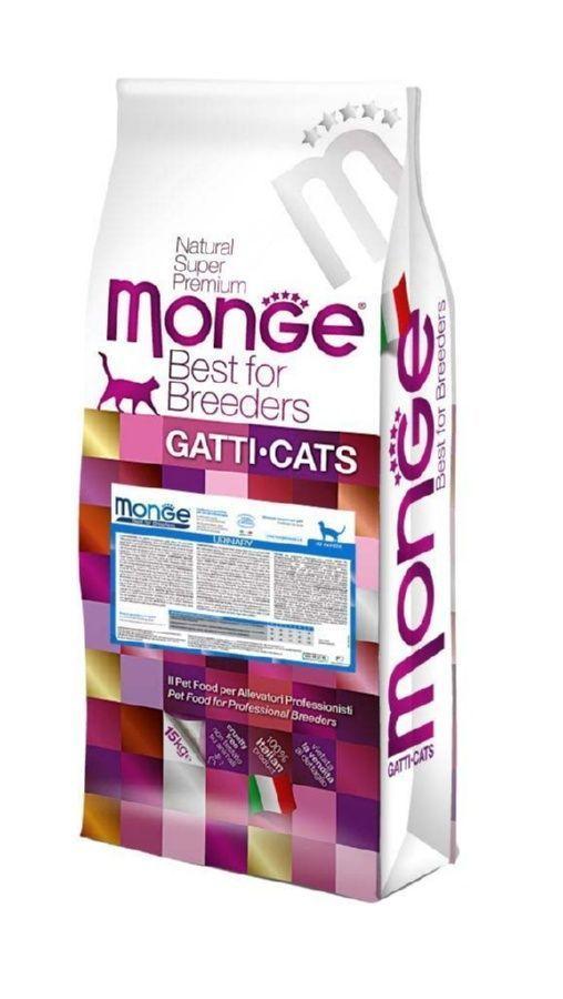 Корм Monge Urinary для взрослых кошек для профилактики МКБ - 10 кг