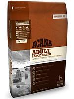 Беззерновой корм Acana Large Breed для взрослых собак, крупных пород (Цыпленок и Рыба) - 11.4 кг