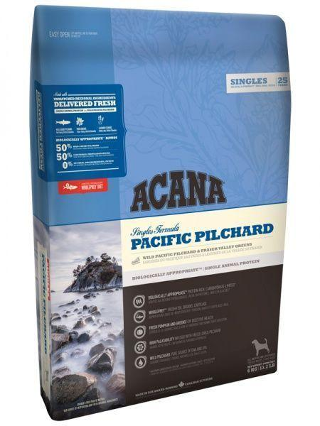 Гипоаллергенный корм Acana Pacific Pilchard для собак, с чувствительным пищеварением (Рыба) - 2 кг