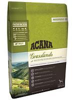Беззерновой корм Acana Grasslands для собак, всех пород и возрастов (Ягненок) - 2 кг