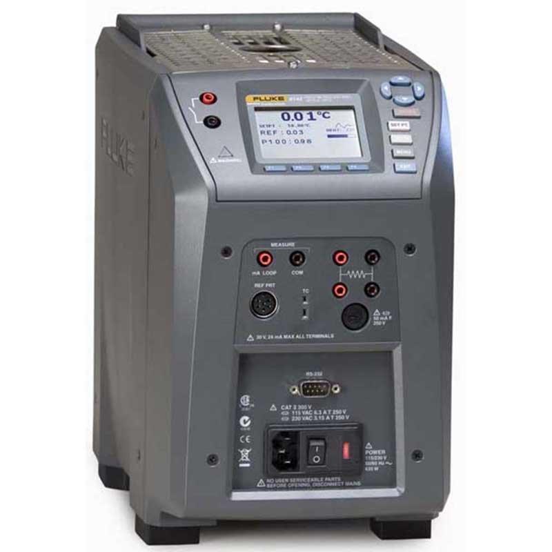 Полевой сухоблочный калибратор температуры Fluke 9142-C-P-256