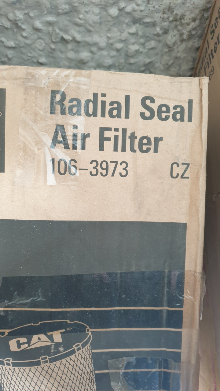 D231/H451 CATERPILLAR 106-3973 Воздушный фильтр Engine Air Filter (2 шт.)