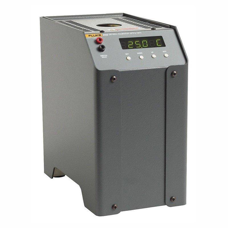 Полевой сухоблочный калибратор температуры Fluke 9103-D-256