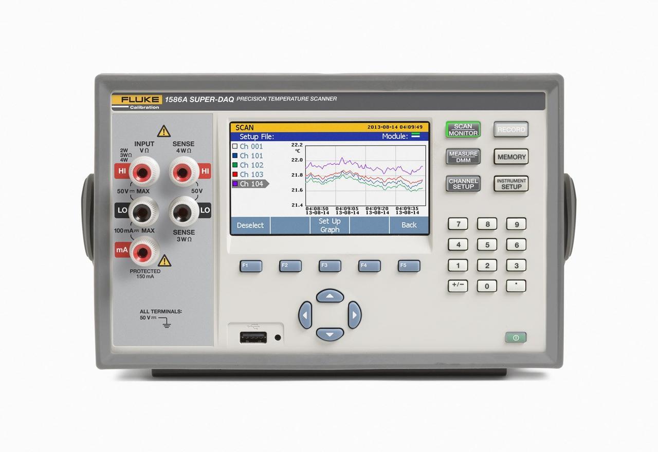 Прецизионный калибратор температуры Fluke 1586A/2DS 220