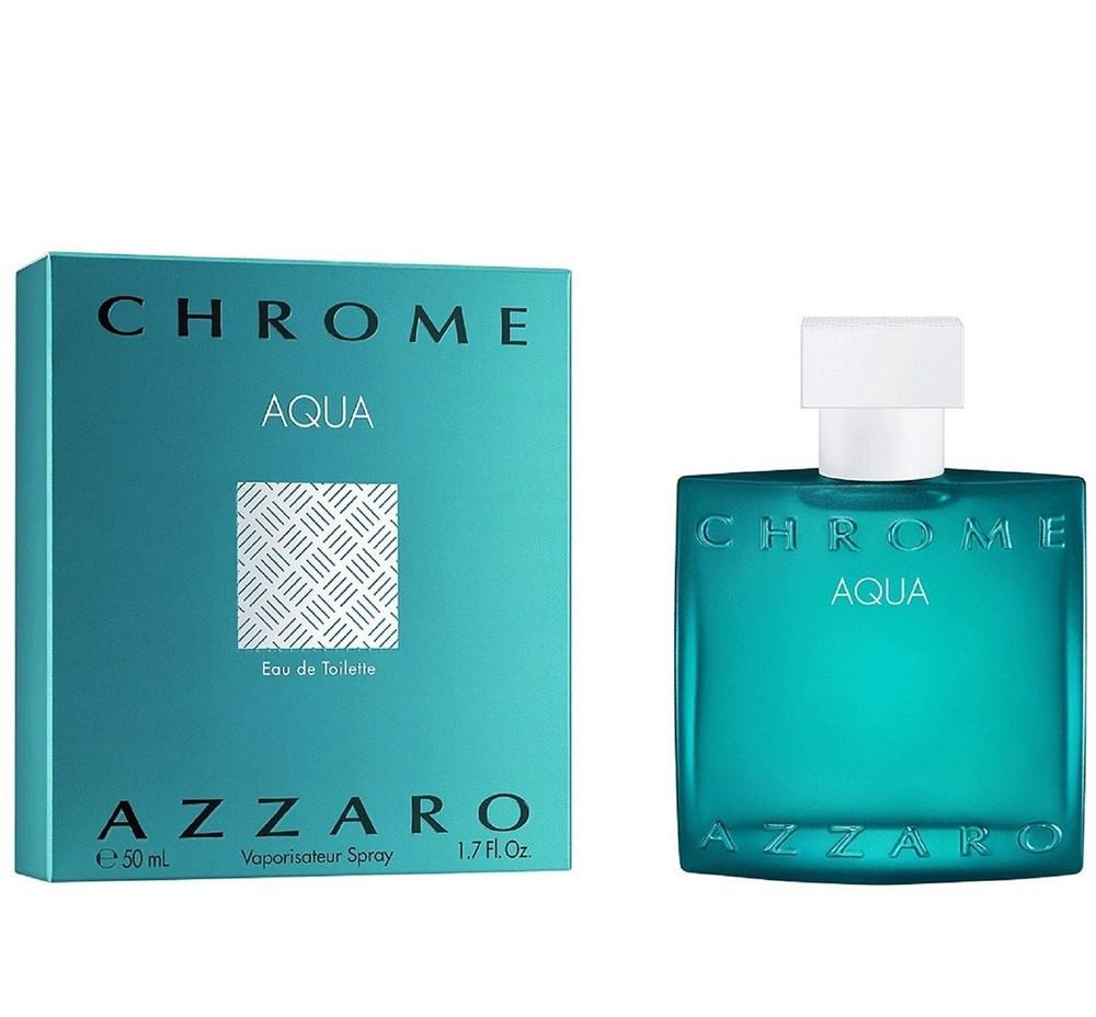 Azzaro Azzaro Chrome Aqua Eau de Toilette Мини 7,5 ml (edt) Тестер 100 ml (edt)