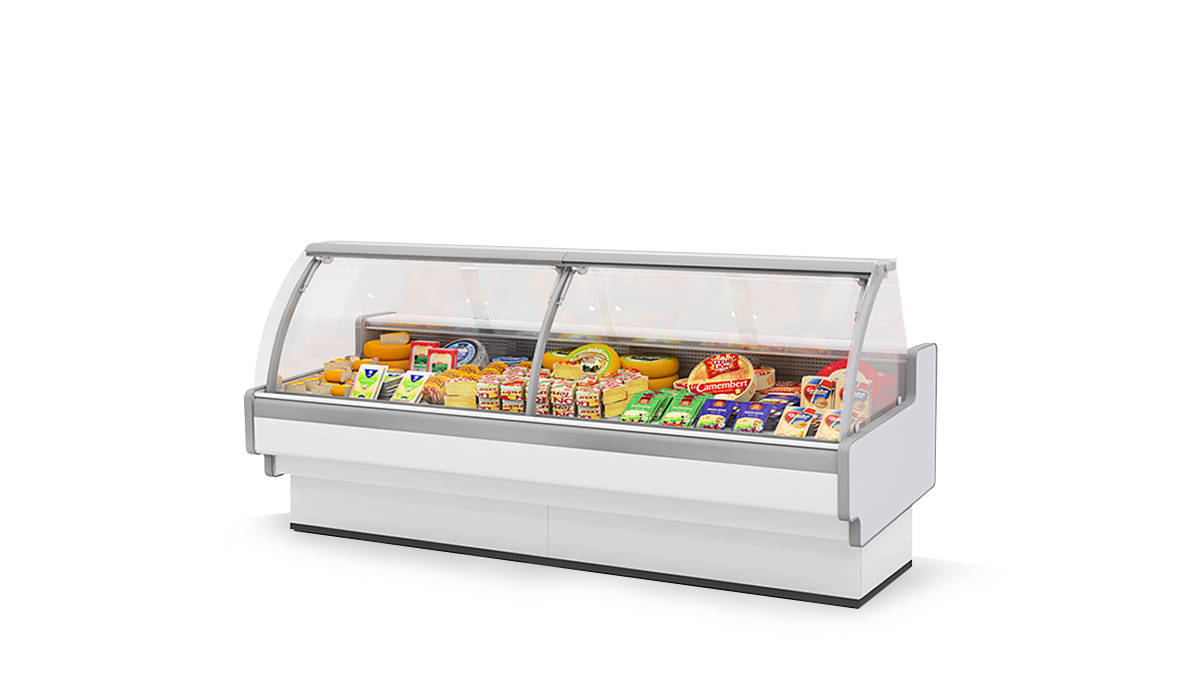 Холодильная витрина Aurora Slim SQ 125 низкотемпературная