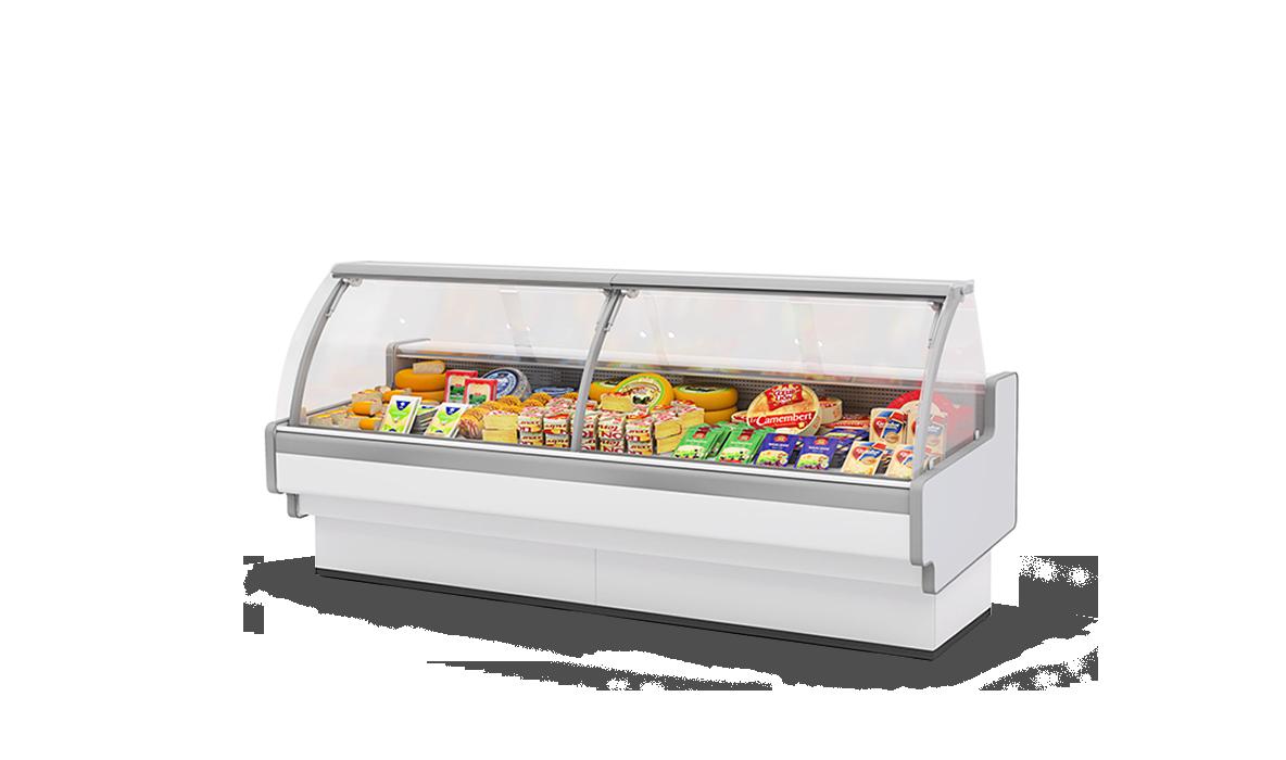 Холодильная витрина Aurora Slim SQ 190 низкотемпературная