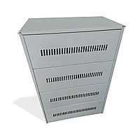 Шкаф для аккумуляторов С-16 Серый