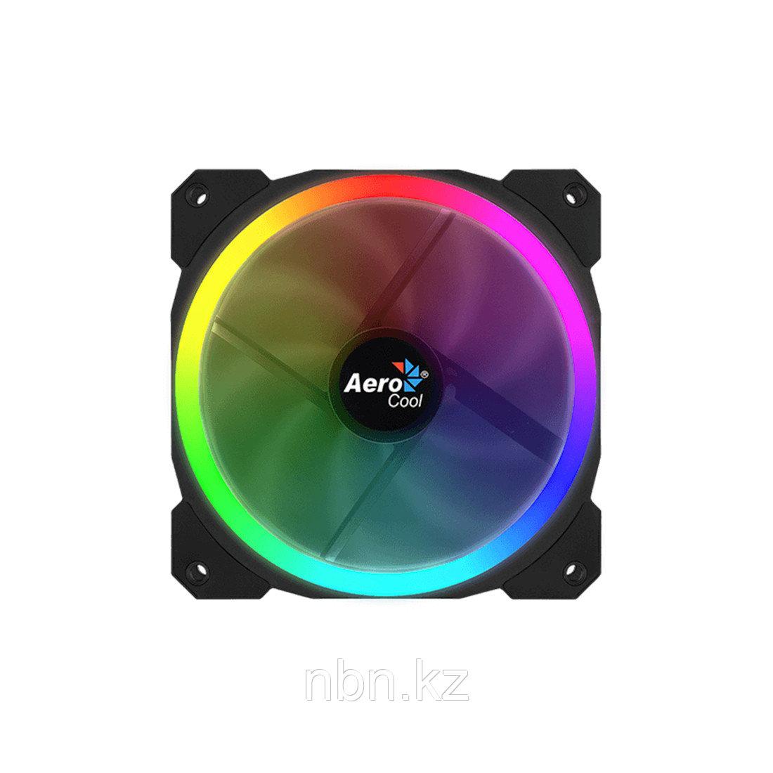 Кулер для компьютерного корпуса AeroCool Orbit 12см RGB