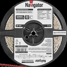 Лента СД NLS-3528W120-9.6-IP65-12V R5 71 409 Navigator
