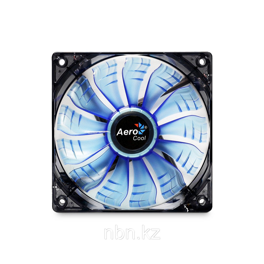 Кулер для компьютерного корпуса AeroCool 14см AIR Force Blue Edition